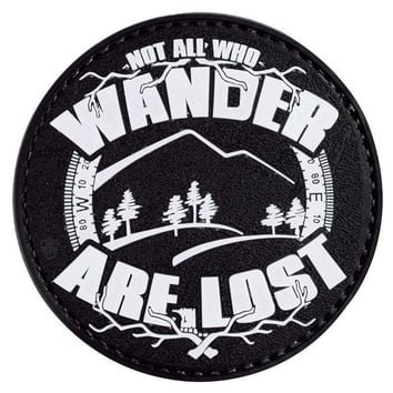 Tru-Spec PVC Morale Glow Patch Not all Who Wander