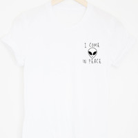 I Come in Peace Tee