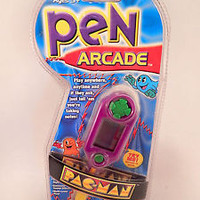 Pac Man Writing Pen Arcade Game MGA 2001 Video Game Memorabilia Toy New Unused