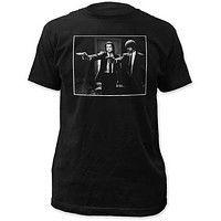PULP FICTION JULES AND VINCE MENS FITTED JERSEY TEE