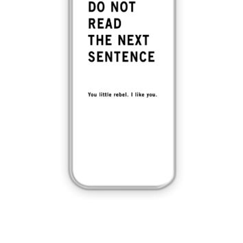 Do Not Read - iPhone 5&5s Case
