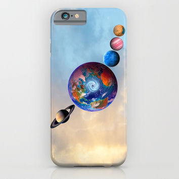 Gaia's friends #society6 iPhone & iPod Case by Azima