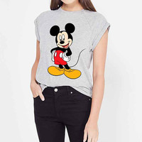 Mickey Mouse Iron on Patch Mickey Mouse embroidery applique add on Disney iron on patch Mickey Mouse iron on decals transfers sticker ikpa41