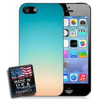 Ombre Pastel Pink Blue Gradient Soft Colors Hard Case for iPhone 6 Plus iPhone 6 iPhone 5s iPhone 5 iPhone 5c iPhone 4s Galaxy S5 Galaxy S4