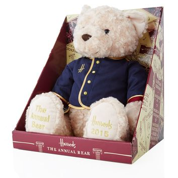 Harrods Charles Clay 2015 The Annual Bear | Harrods
