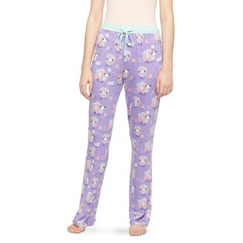 Nite Nite Munki Munki® Women's Sleep Pant Lavender/Yarn Sheep