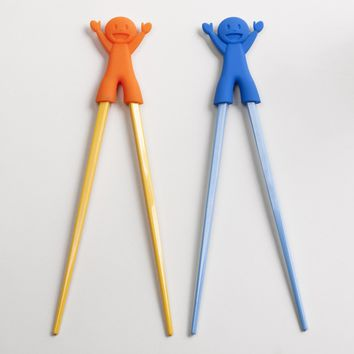 Buddy Trainer Chopsticks Set Of 2   World Market