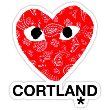 'CORTLAND' Sticker by Cameron Lashley