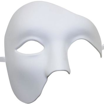 FunPa Venetion Mask For Party Half Face Phantom Of The Opera Mask Mardi Gras Mask Masquerade Mask For Men