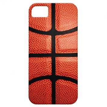 Basketball IPhone Case Sports Gift iPhone 5 Cover from Zazzle.com