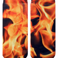 Flame Ankle Socks