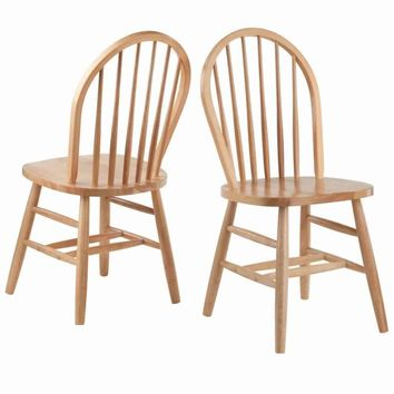 Windsor Chair 2-PC Set RTA Natural