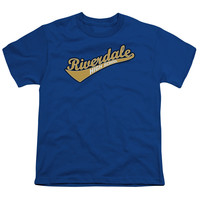 ARCHIE COMICS/RIVERDALE HIGH SCHOOL - S/S YOUTH 18/1 - ROYAL -