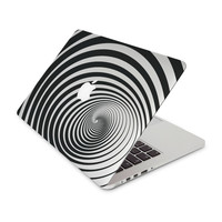Black And White Twilight Zone Skin for the Apple MacBook