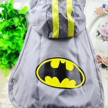 2015 New Spring And Summer Dog Clothes Pet Clothing Batman Cape Free Transportation Xs Xxl