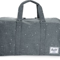 Herschel Supply Novel Scattered Charcoal 42.5L Duffle Bag