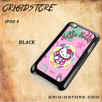 hello kitty 2 For Ipod 4 Case - Gift Present Multiple Choice