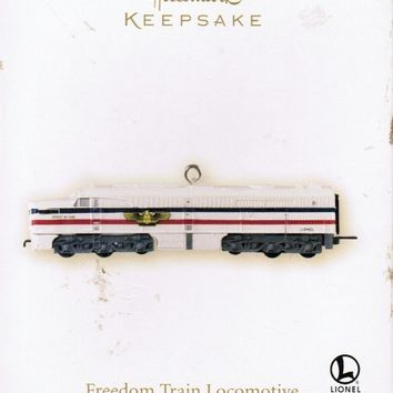 Freedom Train LIONEL Hallmark Christmas Ornament