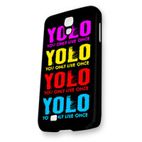 YOLO YOu Only Live Once Full Color Samsung Galaxy S4