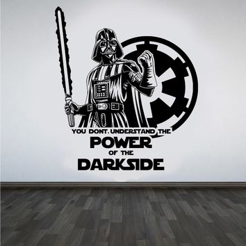 2018 New Neymar Star Wars Darth Design Vader Vinyl Art Decor Room Bedroom Movie Decal Poster Wall Stickers Home Living #m751