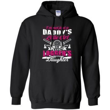 I Am A Logger's Daughter Pullover Hoodie 8 oz