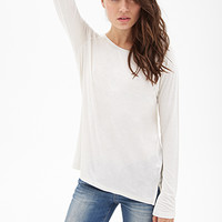 LOVE 21 Classic Long-Sleeved Tee