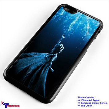 Frozen Heart Frozen Elsa & Anna - Personalized iPhone 7 Case, iPhone 6/6S Plus, 5 5S SE, 7S Plus, Samsung Galaxy S5 S6 S7 S8 Case, and Other