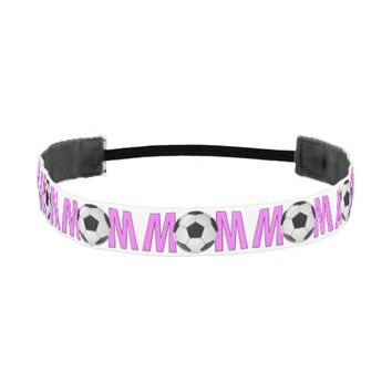 Custom Soccer Mom Headband