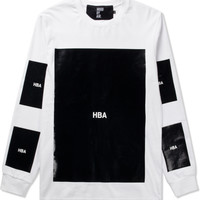 Hood By Air. White Block T-Shirt