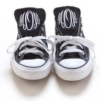Personalized Monogrammed Converse Sneakers | Personalized Gifts | Bespoke Custom Gifts