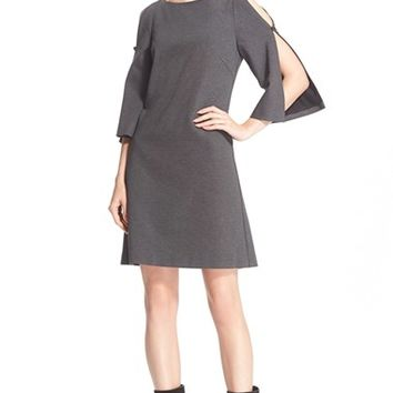 Women's Trina Turk 'Crawford' Split Sleeve Shift Dress,