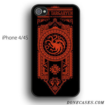 Game of Throne House Targaryen case for iPhone 4[S]