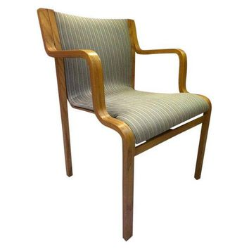 Pair of Mid-Century Stendig Chairs, New Upholstery