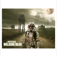 Imperial Walking Dead Mashup T-Shirt