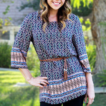 Heavenly Boho Tunic Top