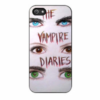 vampire diaries eye cases for iphone se 5 5s 5c 4 4s 6 6s plus