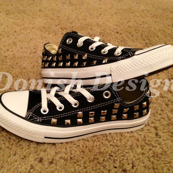 Studded Converse Shoes (ONE SIDE ONLY)