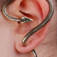 Snake Earrings - For pierced ears