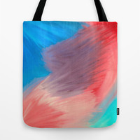 Violet  Tote Bag by Sierra Christy Art