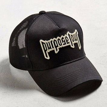DCCKIJ2 Purpose Tour Embroidered Baseball Cap
