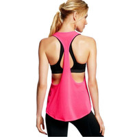 Sleeveless Vest Sports Blouse Tank Tops [10972797519]