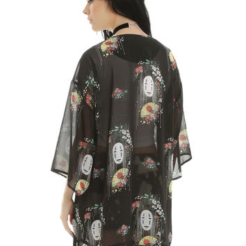 Studio Ghibli Spirited Away No-Face Kimono