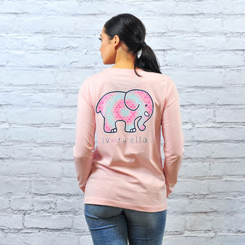 Perfect Fit Ella-Scent Pink Flower Tee