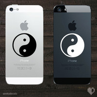 Yin Yang iPhone Decal / iPhone Sticker