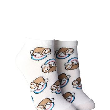 Sloth Ankle Socks