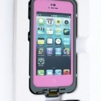 New Waterproof Shockproof and Dirtproof Case for Iphone 4 4s Case (Pink)