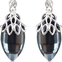 Big Tree 4ever Young 18K White Gold Plated Crystal Alloy Drop Earring Price in India - Buy Big Tree 4ever Young 18K White Gold Plated Crystal Alloy Drop Earring Online at Best Prices in India | Flipkart.com