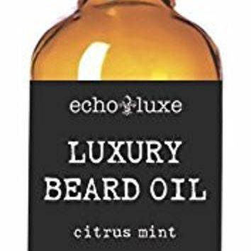 Hair Conditioning Serum Beard Oil Leave-In Hair Conditioner 100% All Natural