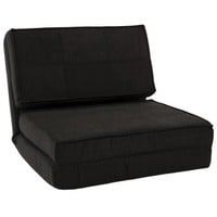 Fold Down Chair Flip Out Lounger Convertible Sleeper Bed Couch Game Dorm Guest - Walmart.com
