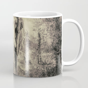 Lone Elephant Mug by Theresa Campbell D'August Art